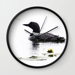 June Loon Wall Clock