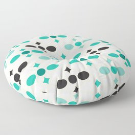 Stone Wall (Garden Green) Floor Pillow