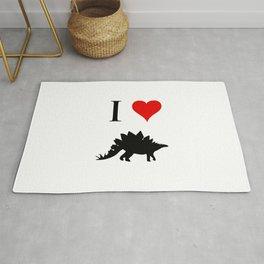 I Love Dinosaurs - Stegosaurus Rug