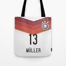 World Cup 2014 - Germany Müller Shirt Style Tote Bag
