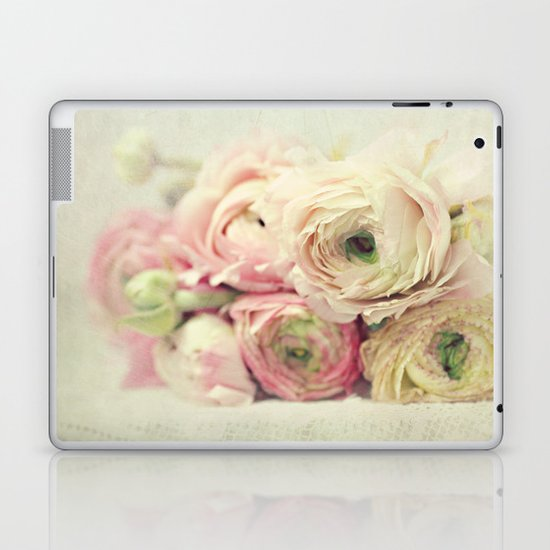 the palest pink Laptop & iPad Skin
