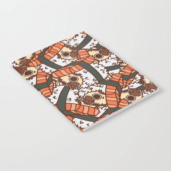 Puglie Salmon Sushi Notebook