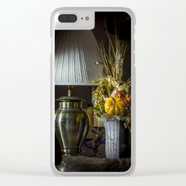 Harvest Decor Clear iPhone Case