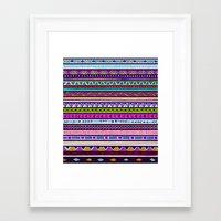 the dude Framed Art Prints featuring Dude by Erin Jordan