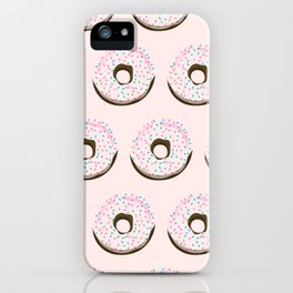 Pinky donuts iPhone Case