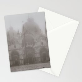 San Marcos Basilica at Piazza San Marcos, Venice, Italy Stationery Cards