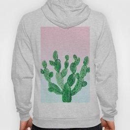 Cacti rose & green Hoody