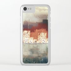 City Rain Clear iPhone Case
