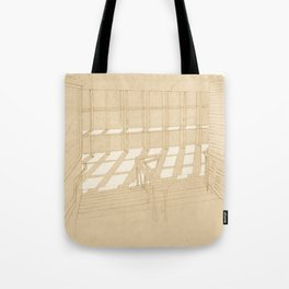 Light and Lines Tote Bag