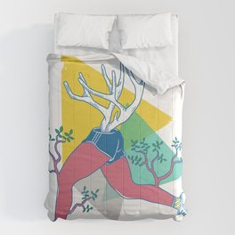 Run like a deer Comforters