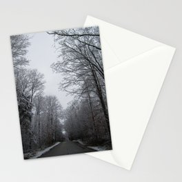 Take the long road and walk it Stationery Cards