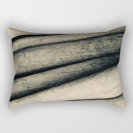 Vintage Baseball Bats Rectangular Pillow