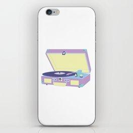 Pastel Turntable iPhone Skin