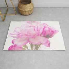 Light Pink Blend Rose #1 #floral #decor #art #society6 Rug