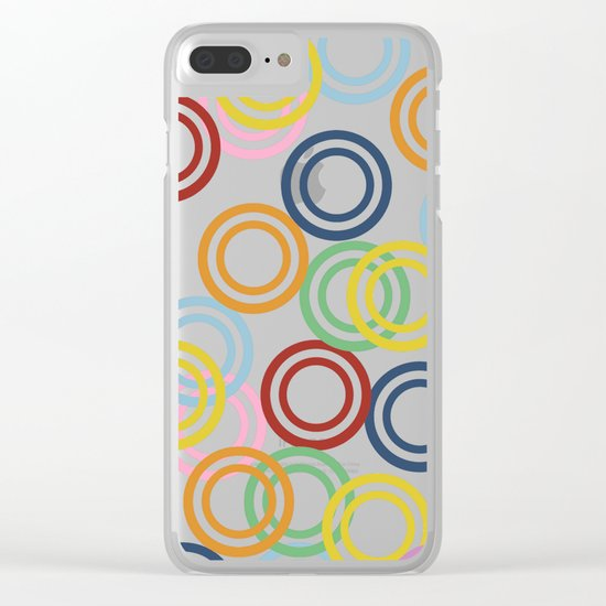 Hoopla Clear iPhone Case