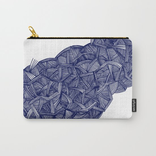 - blue lines - Carry-All Pouch