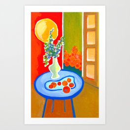 oranges in the afternoon ... Art Print
