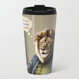 Hungry Lion Travel Mug