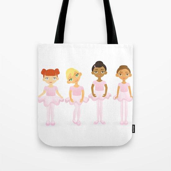Tiny Ballerinas Tote Bag