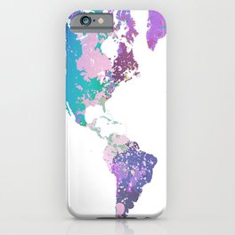 Design 156 World Map iPhone Case
