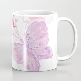butterflies watecolor Coffee Mug