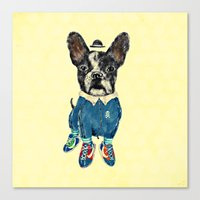 sports Canvas Prints featuring Sports Day by dogooder