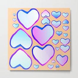Coeur douceur Metal Print