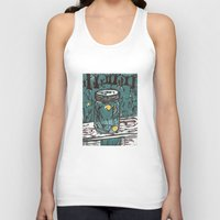 fireflies Tank Tops featuring Catching Fireflies by Heather Powers