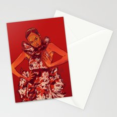 i bring you flowers Stationery Cards