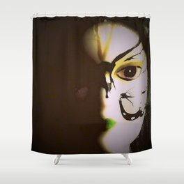 Doll In Color Shower Curtain