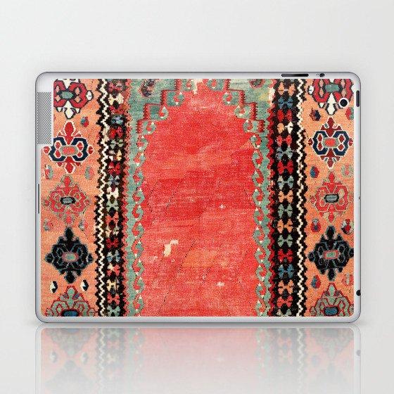 Sivas  Antique Cappadocian Turkish Niche Kilim Print Laptop & iPad Skin
