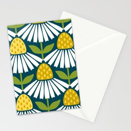 the daisies greet you Stationery Cards