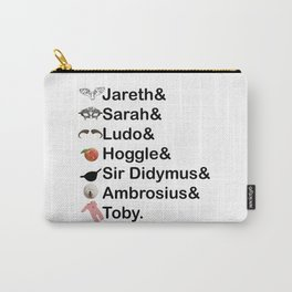 Labyrinth Names Carry-All Pouch