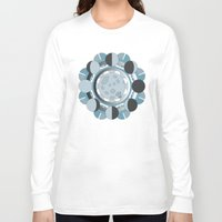 moon phases Long Sleeve T-shirts featuring Moon Phases by TypicalArtGuy