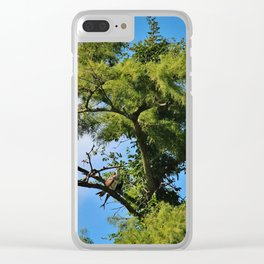 Osprey With Fish Clear iPhone Case