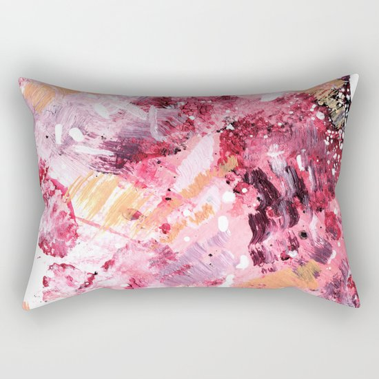 Moments in Motion Rectangular Pillow