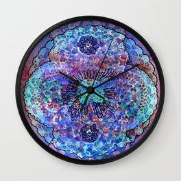 Stain 8 Wall Clock