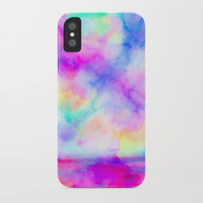The Calm and The Storm iPhone Case