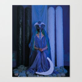 The Priestess Canvas Print