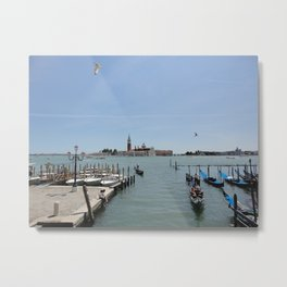 A morning in Venice Metal Print