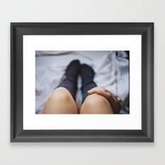 Little by little Framed Art Print