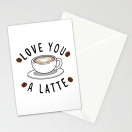 Latte Love Stationery Cards