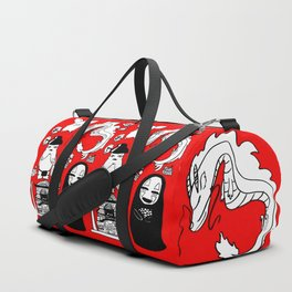 Spirit Away Characters Duffle Bag