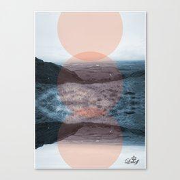 Blue Denny Canvas Print