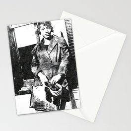 Zora Neale Hurston - Society6 Black Greatness Art - BLM - 01-06-2021 - Stationery Cards