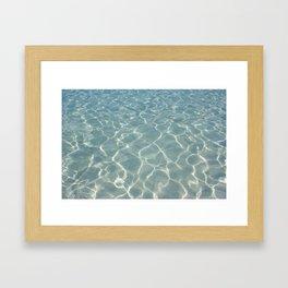 Dive Right In.... Framed Art Print