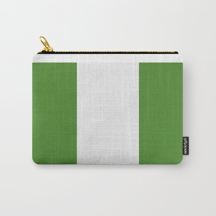 nigeria flag Carry-All Pouch
