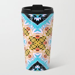 ethnic cross Metal Travel Mug