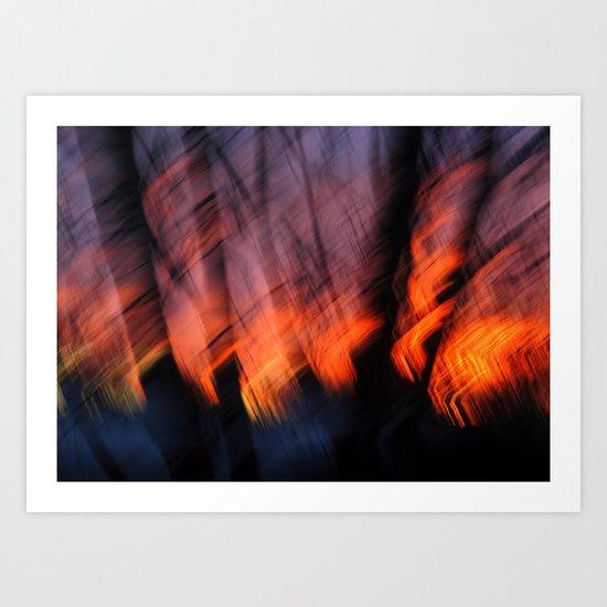 Light Up Your Skies Art Print