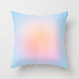 Sweet Sun Blush Throw Pillow